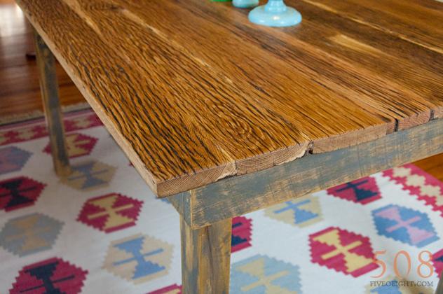No. 40 {barnwood table}