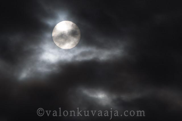 Transit of Venus over sun | Venuksen ylikulku auringosta 2012