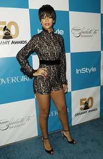 Rihanna Jumpsuit Celebrity Style Women's Fashion (2)