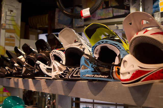 Evolution Whistler Helmets
