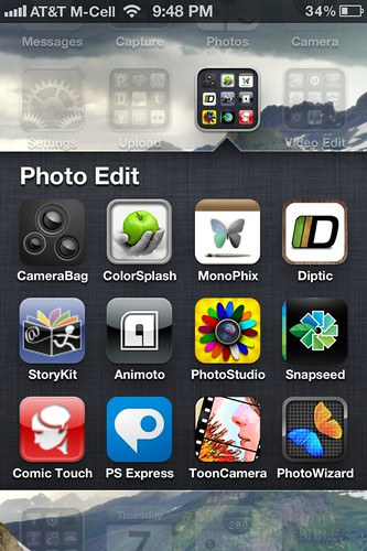 My iPhone Photo Editing Apps