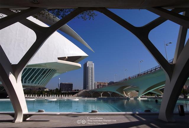 Hola Valencia~瓦倫西亞。藝術科學城 Ciudad de las Artes y las Ciencias     R1043358