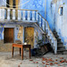 Deserted house in Lithi village on Chios / Greece