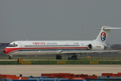 B-2129 McDonnell Douglas MD-82 China Eastern