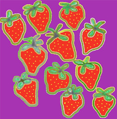 Digital Strawberries by randubnick