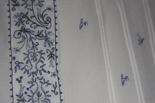 Embroidered shirt - detail