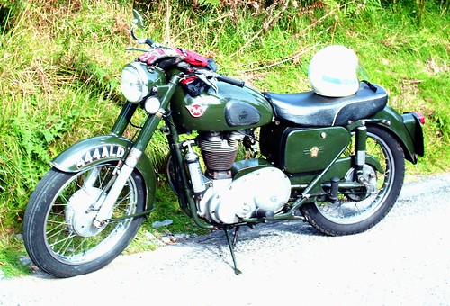 Northern Constabulary Matchless motorcycles