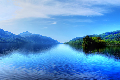 An den Ufern des Loch Lomond - On the banks of Loch Lomond