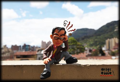 Bogotá, todo un dolor de cabeza... by alter eddie