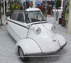 Messerschmitt KR 200 white 1955 vr