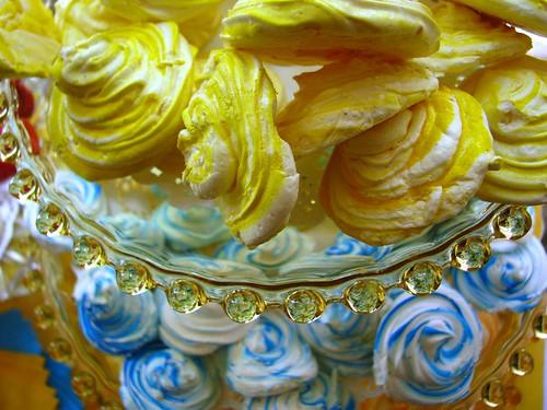tiers of meringues