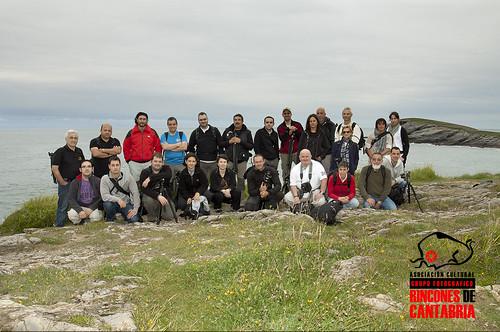 Foto de grupo FotoPaseuco Zona Oriental Cantabria