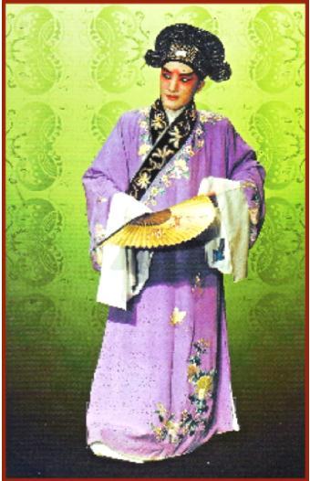 Sheng Character of the Peking Opera
