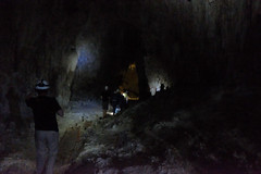 pit cave(0.0), formation(1.0), lava tube(1.0), cave(1.0), caving(1.0), darkness(1.0),
