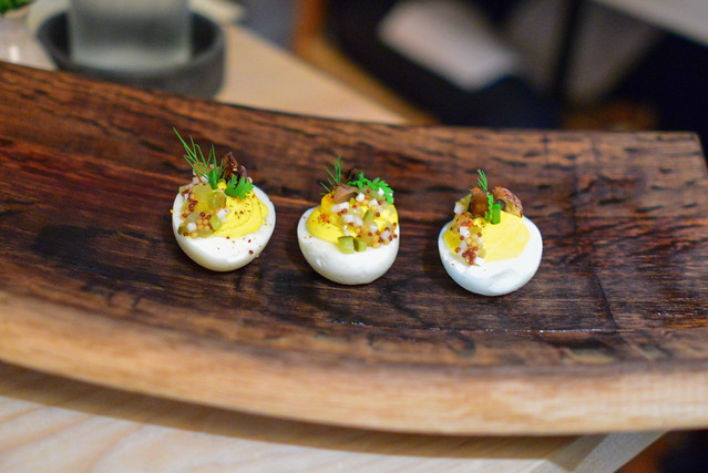 DEVILED EGGS CELERY RELISH