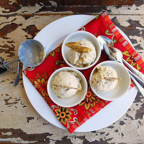 Fennel Pollen-Caraway Ice Cream