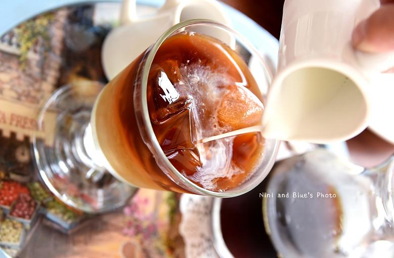 台中早午餐推薦冰滴咖啡插座餐廳胖達31