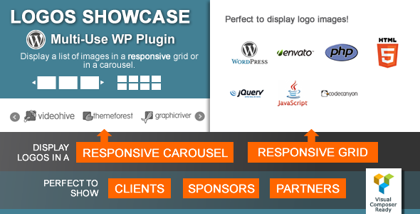 Logos Showcase v1.8.9 - Multi-Use Responsive WP Plugin