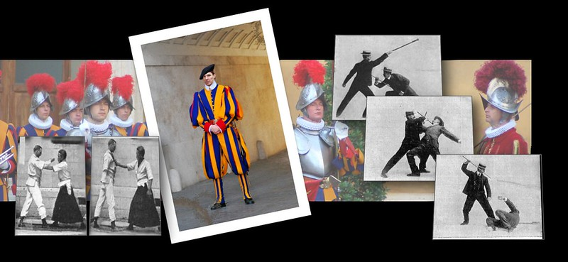 Swiss Guard Collage