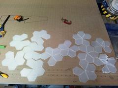 Catalan polyhedron unfolded