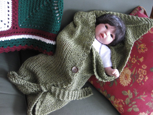 Leaf Blanket for Baby