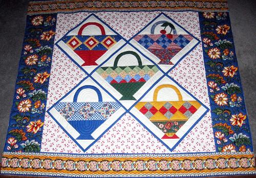Kathy's basket quilt