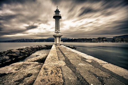 The lighthouse....