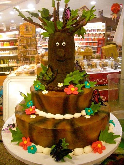 Birthday Cake Ideas Enchanted Forest Theme : Enchanted Forest Birthday Cake Flickr - Photo Sharing!