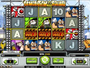 Demolition Squad Wild Feature