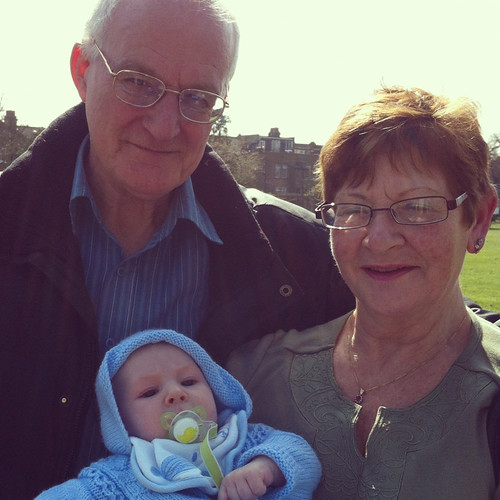 With Grandma & Granddad