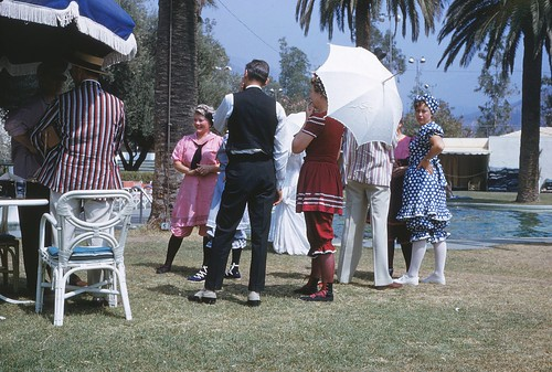 Scene From a Country Club Costume Party, 1955