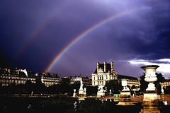 double rainbow in paris by brocks87