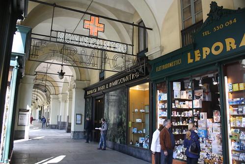 Soportales de Turin