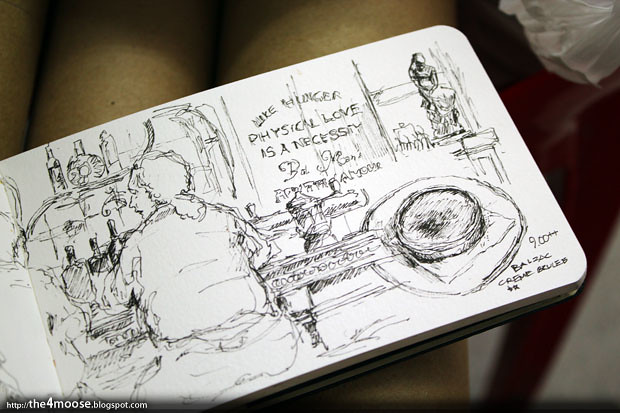 Balzac Brasserie - Sketch 2