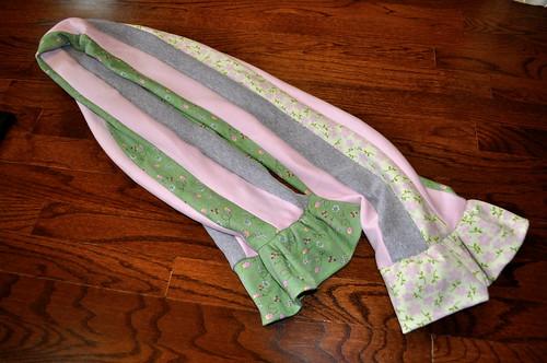 Sewing MODKID Style - Stripwork Scarf