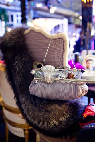 Elizabeth Taylor's chair...Glamorous