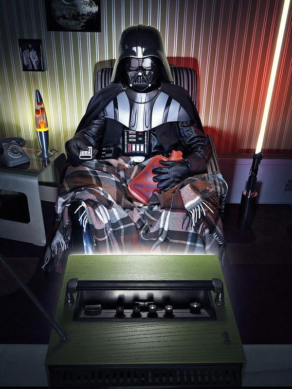 """Darth Vader de """"Guerra nas Estrelas"""""""