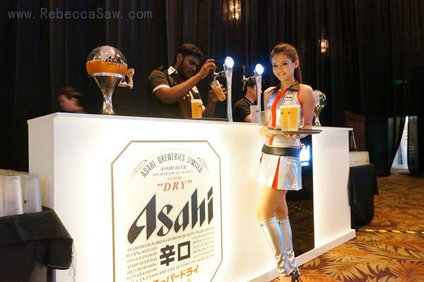 Mr Asahi, the world's first robotic bartender