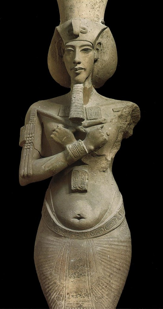 Sculpture of Akhenaten Paper