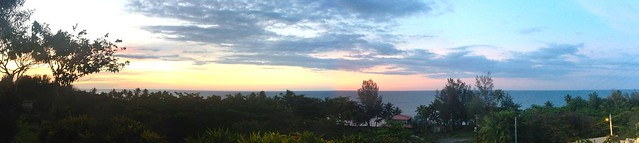 casita sunset pano