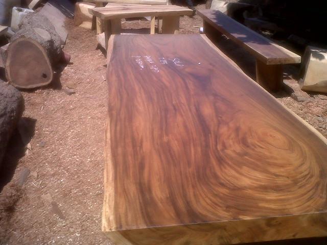 Monkey Pod Wood Table Flickr Photo Sharing