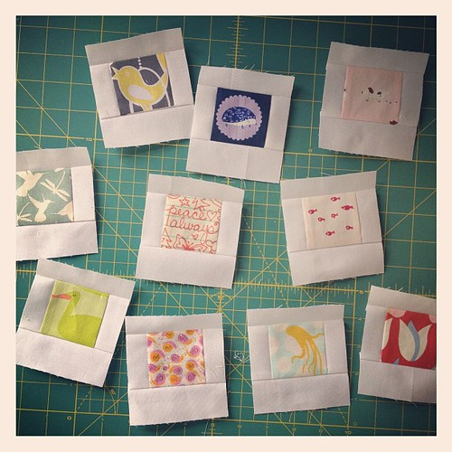 Making polaroid blocks