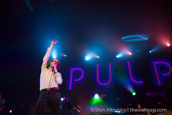 Pulp @ Warfield, San Francisco 4/17/12