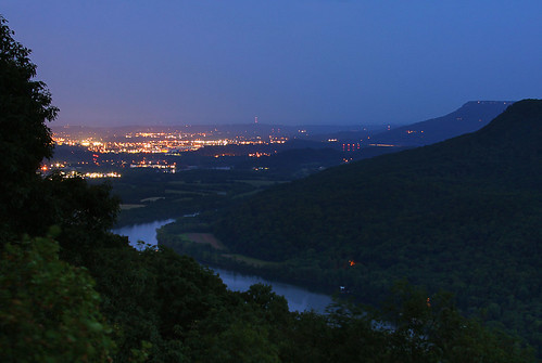 city longexposure blue chattanooga night project smog tn tennessee theme bluehour signal lookoutmountain tennesseeriver riverbend photoproject signalmountain 52weeks raccoonmountain signalpoint project52 virginiabaileyphotography
