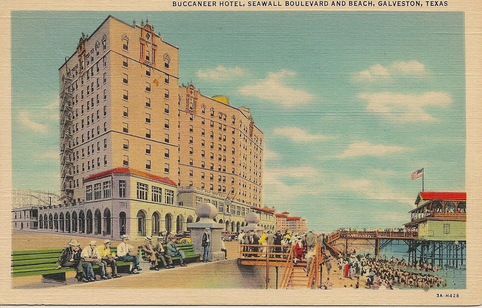 Buccaner Hotel Galveston