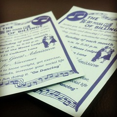 Dance invitations