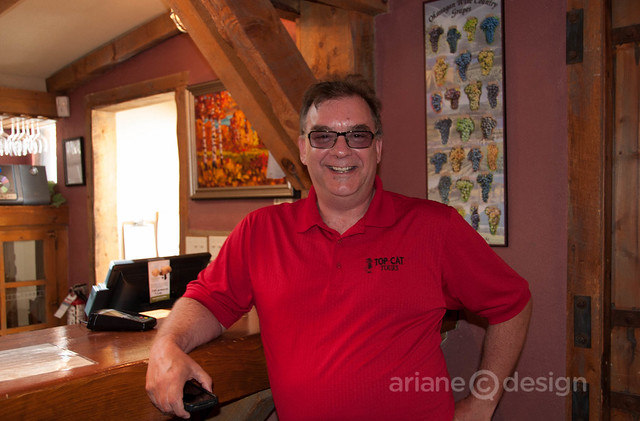 David Brooks of Top Cat Tours, Penticton