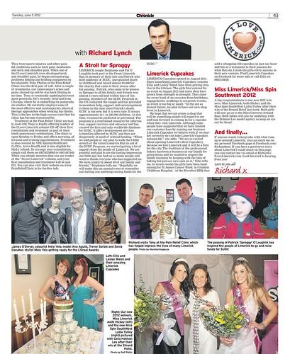 I Love Limerick Chronicle Column 05 June 2012 Page 2