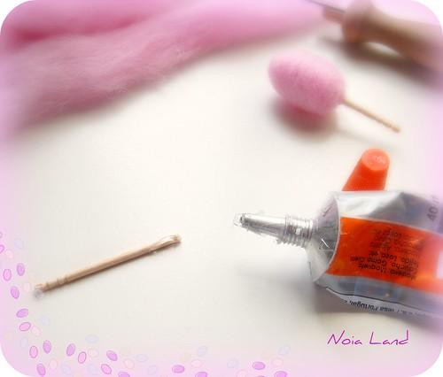 Tutorial: Algodón de Azúcar en miniatura3