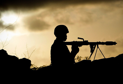 africa news silhouette sunrise soldier dawn photojournalism unitednations conflict uganda troop somalia unphoto insurgent africanunion mogadishu shabaab rocketpropelledgrenade amisom maslah